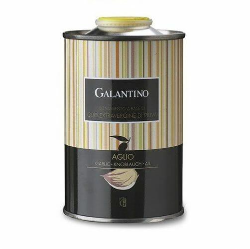 OLIO EXTRAVERGINE ALL'AGLIO GALANTINO 500ML