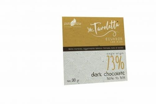 TAVOLETTA MONO ORIGINE ECUADOR 73 - 30GR